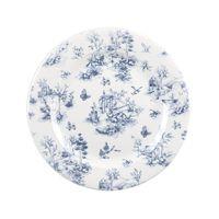 "Vintage Prague Toile Plate 10.9"" (6)"