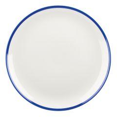 "Retro Blue Coupe Plate 10.25"" (12x1)"