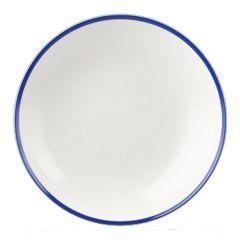 "Retro Blue Coupe Bowl 12"" (6x1)"