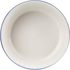 "Retro Blue Round Pie Dish 5.25"" (12)"