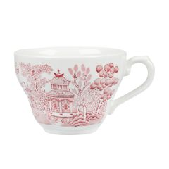 Churchill Vintage Cranberry Willow Georgian Teacup 7oz (12)