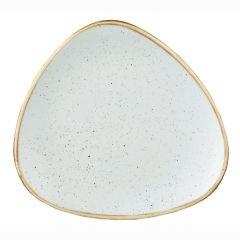 "Churchill Stonecast Duck Egg Blue Triangle Plates 9"" (12)"