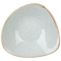 Churchill Stonecast Duck Egg Blue Triangle Bowls 13oz (12)