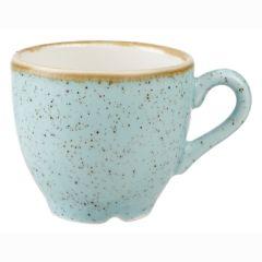 Churchill Stonecast Duck Egg Blue Espresso Cups 3oz (12)