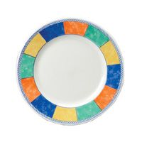 "New Horizons Check Classic Plate 8"" (24)"