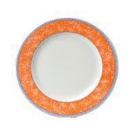 """New Horizons Orange Classic Plate 9"""" (24)"""