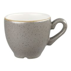 Churchill Stonecast Peppercorn Grey Espresso Cup 3.5oz (12x1)