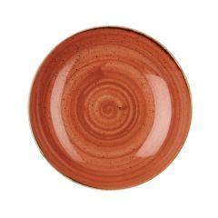Churchill Stonecast Spiced Orange Coupe Bowl 84.5oz (6)