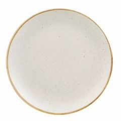 "Churchill Stonecast Barley White Coupe Plate 12.75"" (6)"