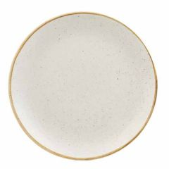 "Churchill Stonecast Barley White Coupe Plate 10.25"" (12)"