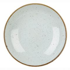 "Churchill Stonecast Barley White Coupe Plate 14""x7.25"" (12)"