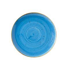 "Churchill Stonecast Cornflower Blue Coupe Plate 8.67"" (12)"
