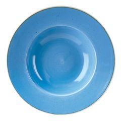 "Churchill Stonecast Cornflower Blue Bowl 11"" (12)"