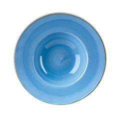 "Churchill Stonecast Cornflower Blue Bowl 9.5"" (12)"