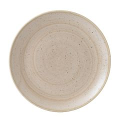 "Churchill Stonecast Nutmeg Cream Coupe Plate 11.25"" (12)"