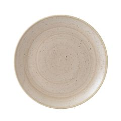 "Churchill Stonecast Nutmeg Cream Coupe Plate 10.25"" (12)"