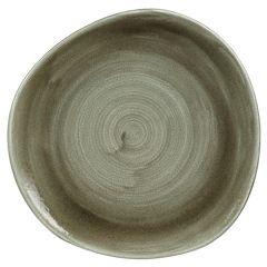 "Stonecast Patina Green Plate 11.25"" (12)"