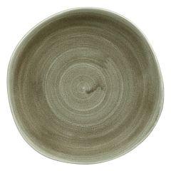 "Stonecast Patina Green Plate 10.4"" (12)"
