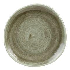 "Stonecast Patina Green Plate 8.25"" (12)"