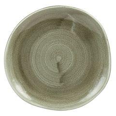"Stonecast Patina Green Plate 7.25"" (12)"
