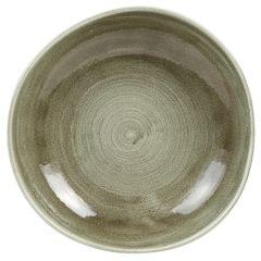 "Stonecast Patina Green Bowl 9.9"" (12)"