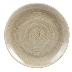 """Stonecast Patina Taupe Coupe Plate 10.25"""" (12)"""