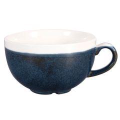 Churchill Monochrome Sapphire Blue Cappuccino Cup 8oz (12)