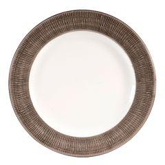 """Churchill Bamboo Spinwash Dusk Plate 10.7"""" (12)"""
