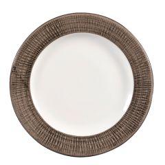"""Churchill Bamboo Spinwash Dusk Plate 8.25"""" (12)"""