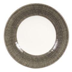 "Churchill Bamboo Spinwash Dusk Wide Rim Bowl 9.5"" (12)"