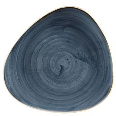 "Stonecast Blueberry Triangle Plate 10.5"" (12)"