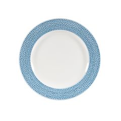 Churchill Isla Ocean Blue Plate 17cm (12)