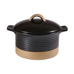 Art de Cuisine Igneous Black Lidded Cocotte 18.6oz (6)