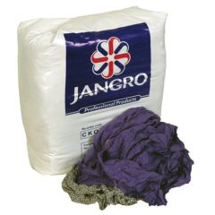 Jangro Wipers/Rags Yellow Label 10kg