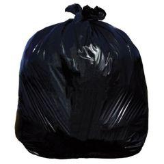 Jangro Light Duty Black Bin Bags (500)