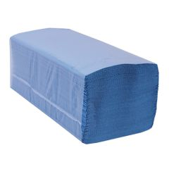 Jangro Blue V Fold Economy Hand Towels 1ply