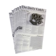Daily Catch Greaseproof Newspaper