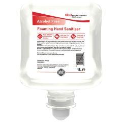 Deb Instant Foam Alcohol Free Hand Sanitiser 1ltr