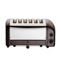 Dualit 6 Slot Black Vario Toaster.