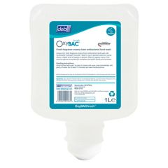 OxyBAC Fresh Foam Hand Wash, 1ltr. (6)