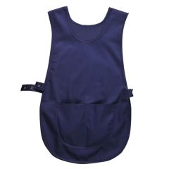 Navy Blue Tabard With Pocket (M)