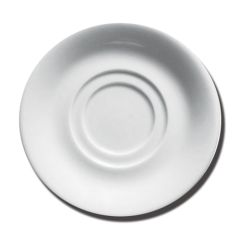 """Porcelite Double Well Saucer 5.75"""""""