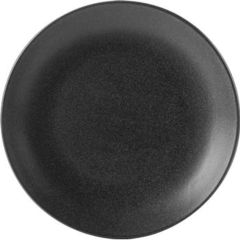 "Seasons Graphite Coupe Plate 12"" 30cm (6)"