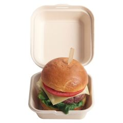 Eco-Fibre Burger Box 6 inches