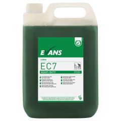 Evans EC7 Heavy Duty Hard Surface Cleaner 5ltr