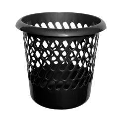 Black Waste Paper Bin
