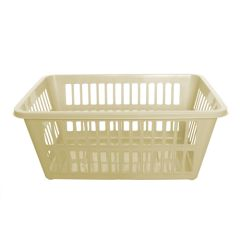 Cream Laundry Basket