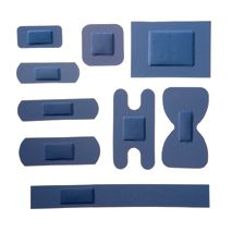 Blue X-Ray Assorted Plasters