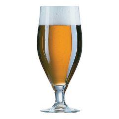 Cervoise Stemmed Beer Glasses 2/3rd Pint 380ml CE (6)