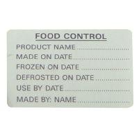 Food Control Labels (500)